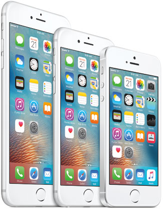 Apple iPhone Family: iPhone 6S Plus, iPhone 6S and iPhone SE